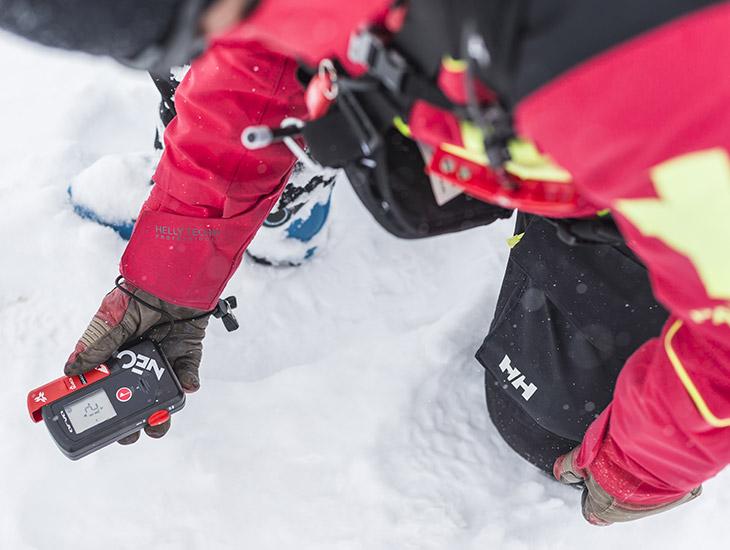 rescate seguridad en avalanchas